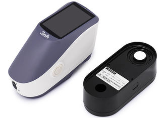 محلل ألوان الطلاء 3nh Spectrophotometer 1 * 3mm فتحة مستطيلة لسطح المنحنى